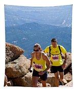 Pikes Peak Marathon And Ascent Tapestry