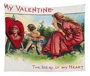 Valentines Day Card Tapestry