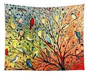 27 Birds Tapestry