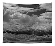 2d07517-bw Storm Over Lost River Range Tapestry