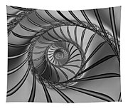 2x1 Abstract 434 Bw Tapestry