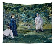 A Game Of Croquet Tapestry