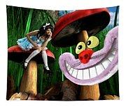 Alice In Wonderland Tapestry