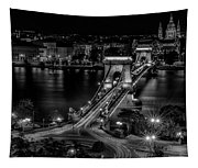 An Evening In Budapest Tapestry