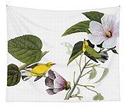 Audubon Warbler Tapestry