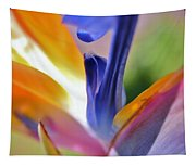 3 Bird Of Paradise Macro Tapestry