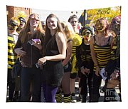 Emma Crawford Coffin Races In Manitou Springs Colorado Tapestry