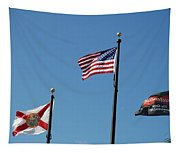 3 Flags Tapestry