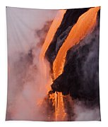 Flowing Pahoehoe Lava Tapestry