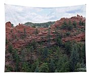 Hiking The Mesa Trail In Red Rocks Canyon Colorado Tapestry