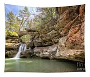 Hocking Hills Waterfall Tapestry