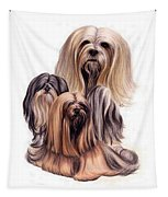 Lhasa Apso Triple Tapestry