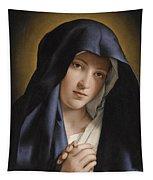Madonna At Prayer Tapestry