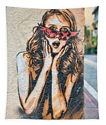 Marseille Street Art, Le Panier And Le Cours Julien Tapestry