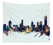 Melbourne Skyline Tapestry