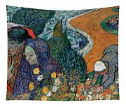 Memory Of The Garden At Etten Tapestry