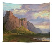 Mount Arapiles And The Mitre Rock Tapestry