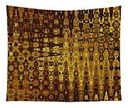 Mushroom Abstract Tapestry