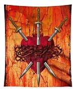3 Of Swords Tapestry