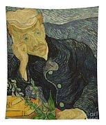 Portrait Of Dr Gachet Tapestry