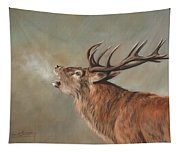 Red Deer Stag Tapestry