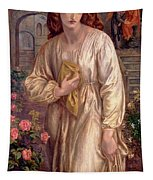 Salutation Of Beatrice Tapestry