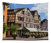 Streets Of Colmar Tapestry
