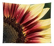 Sunflower Named Ruby Eclipse Tapestry