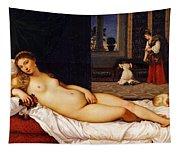 Venus Of Urbino Tapestry