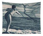 Vintage Hawaiian Art Tapestry