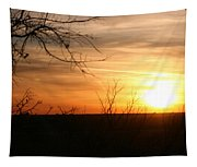 West Texas Sunset Tapestry