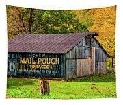 West Virginia Barn Tapestry