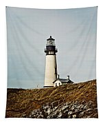 Yaquina Head Lighthouse - Toned By Texture Tapestry