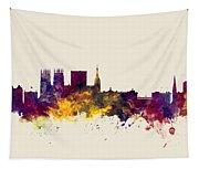 York England Skyline Tapestry