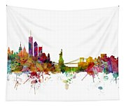 New York Skyline Tapestry