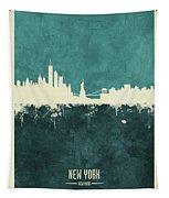 New York Skyline Tapestry