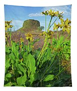 3da5792-dc Arrowleaf Balsamroot Framing Hat Rock Tapestry