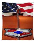 1954 Chevrolet Hood Emblem Tapestry