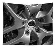 2011 Lotus Euora Wheel Emblem Tapestry