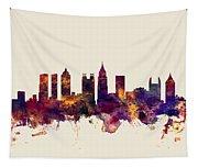 Atlanta Georgia Skyline Tapestry