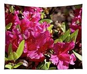 Azalea Flowers Tapestry