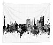 Dortmund Germany Skyline Tapestry