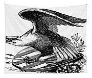 Eagle, 19th Century Tapestry
