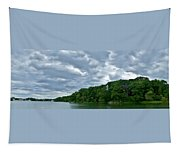 Green's Hill And The Bass River Tapestry
