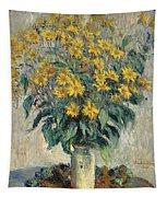 Jerusalem Artichoke Flowers Tapestry