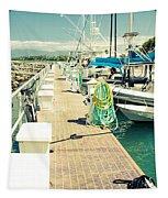 Lahaina Harbor Maui Hawaii Tapestry