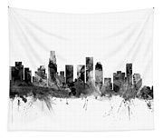Los Angeles California Skyline Tapestry