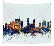 Milan Italy Skyline Tapestry
