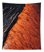 Molten Pahoehoe Lava Tapestry
