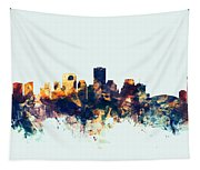 New Orleans Louisiana Skyline Tapestry